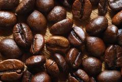 De achtergrond van de koffie Stock Foto's