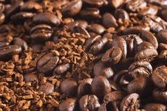 De achtergrond van de koffie Royalty-vrije Stock Afbeeldingen