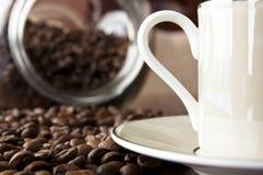 De achtergrond van de koffie royalty-vrije stock foto's