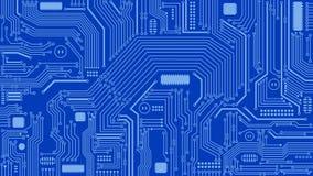 De Achtergrond van de kringsraad, Samenvatting, Computers, Technologie vector illustratie