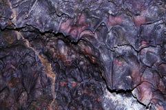 De achtergrond van de lava Stock Foto