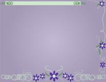 De Achtergrond van de lavendel vector illustratie