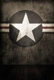 De achtergrond van de legerster stock fotografie