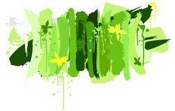 De achtergrond van de lente Stock Foto's