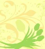 De achtergrond van de lente, vector Stock Afbeelding