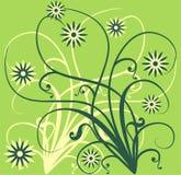 De achtergrond van de lente, vector vector illustratie