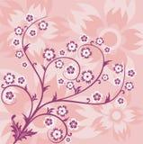 De achtergrond van de lente, vector stock illustratie