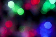 De Achtergrond van de Lichten van Defocused Stock Afbeeldingen