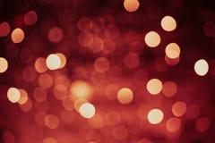 De Achtergrond van de Lichten van Defocused Stock Afbeelding