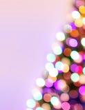 De Achtergrond van de Lichten van Defocused Royalty-vrije Stock Afbeelding