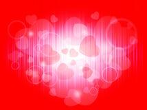 De achtergrond van de liefde Royalty-vrije Stock Afbeeldingen