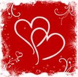 De achtergrond van de liefde Royalty-vrije Stock Afbeelding