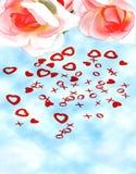 De achtergrond van de liefde Royalty-vrije Stock Fotografie