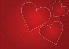De achtergrond van de liefde Royalty-vrije Stock Foto