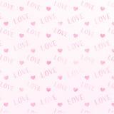 De achtergrond van de liefdewaterverf Stock Afbeelding