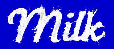 De achtergrond van de melk royalty-vrije illustratie