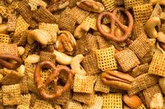 De Achtergrond van de Mengeling van de snack Royalty-vrije Stock Foto's