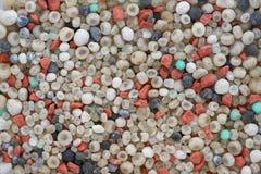 De achtergrond van de meststoffentextuur stock fotografie