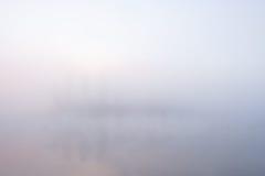 De achtergrond van de mist Stock Fotografie