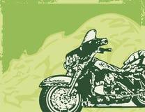 De Achtergrond van de motorfiets Stock Foto