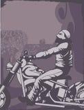 De Achtergrond van de motorfiets Stock Foto's