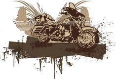 De Achtergrond van de Motorfiets van Grunge Stock Afbeelding