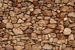 De Achtergrond van de Muur van de rots Stock Afbeelding