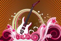 De achtergrond van de muziek Royalty-vrije Stock Afbeeldingen