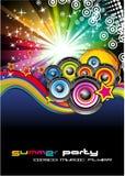 De Achtergrond van de muziek voor de Vliegers van de Disco Royalty-vrije Stock Foto's