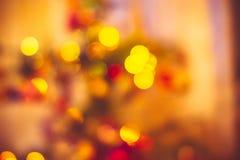 De achtergrond van de nieuw-jaarvakantie Royalty-vrije Stock Foto