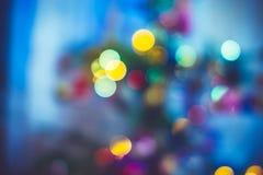 De achtergrond van de nieuw-jaarvakantie Stock Foto's