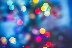De achtergrond van de nieuw-jaarvakantie Stock Fotografie