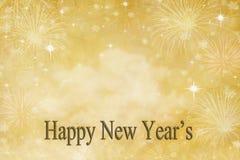 De Achtergrond van de nieuwjaarsdag Stock Foto's
