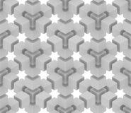 De achtergrond van de optische illusie stock illustratie