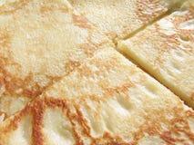 De achtergrond van de pannekoek Stock Fotografie
