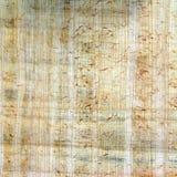 De achtergrond van de papyrus Stock Foto