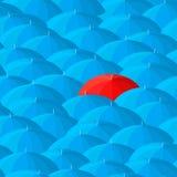De achtergrond van de paraplu Royalty-vrije Stock Fotografie