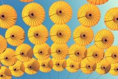De Achtergrond van de parapluhemel Royalty-vrije Stock Fotografie