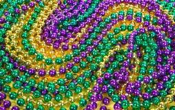 De Achtergrond van de Parels van Gras van Mardi stock afbeeldingen