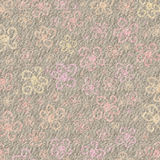 De Achtergrond van de Pastelkleur van Grunge van de bloem Stock Foto