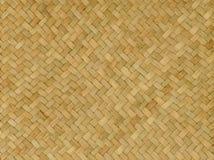 De achtergrond van de patroonaard van de textuurrijs van het ambachtsweefsel Stock Afbeelding