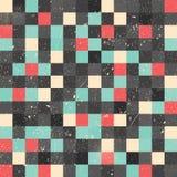 De achtergrond van de pixelkunst Stock Fotografie