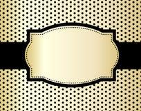 De achtergrond van de polka Stock Afbeelding
