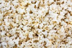 De achtergrond van de popcorn stock fotografie
