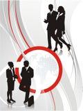 De achtergrond van de presentatie stock illustratie