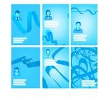 De achtergrond van de presentatie Royalty-vrije Stock Foto