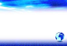 De achtergrond van de presentatie Stock Foto