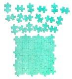 De achtergrond van de puzzel Royalty-vrije Stock Foto