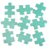 De achtergrond van de puzzel Royalty-vrije Stock Afbeelding
