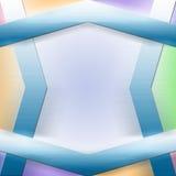 De Achtergrond van de Reclame van het Ontwerp van vormen Royalty-vrije Stock Afbeelding